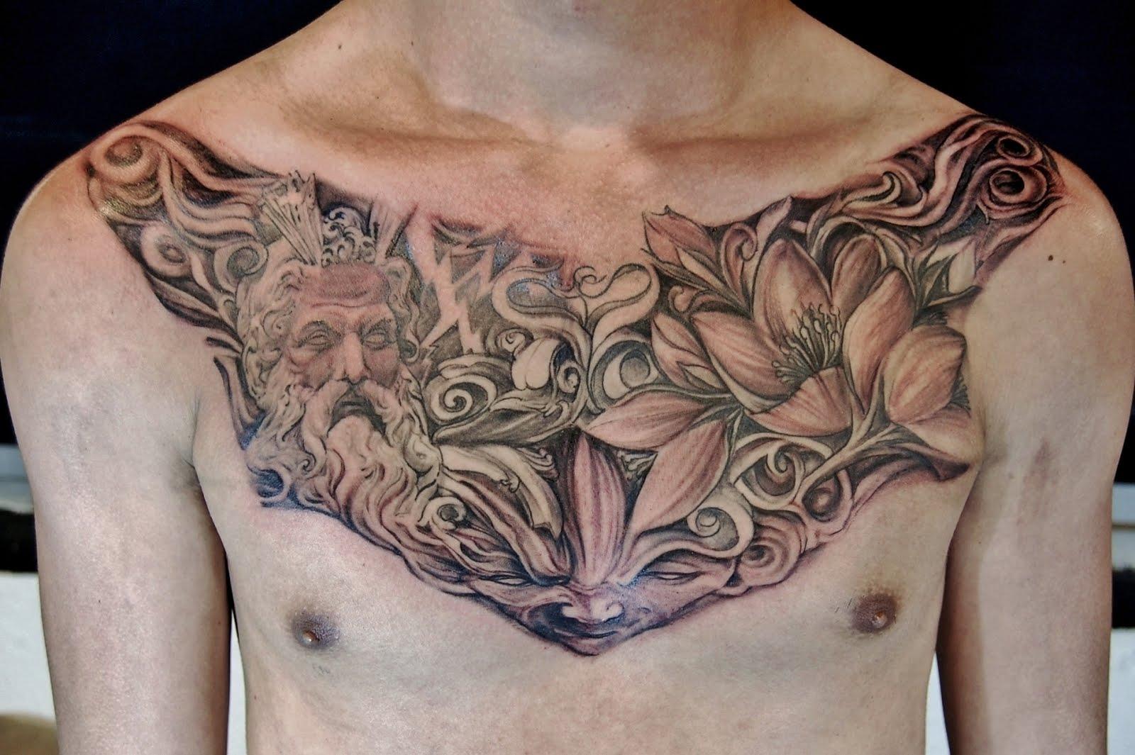 Nail Art Designs: Tribal Phoenix Tattoos For Men - photo#31