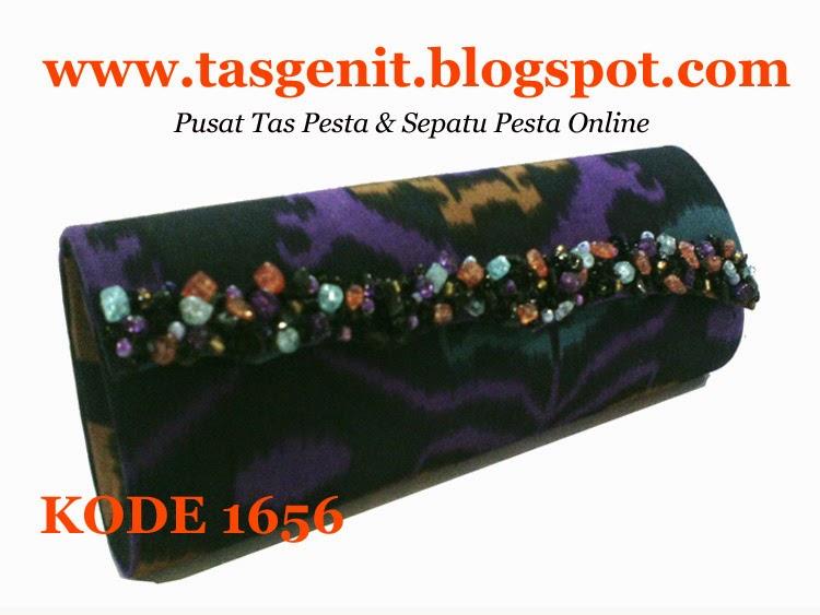 tas pesta cantik, clutch bag batik, tas tenun, tas endek