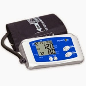Buy Equinox Blood Pressure Monitor + Rs. 75 Cashback EQ_BP 100 Rs. 629, Q_BP 101 Rs. 839  only