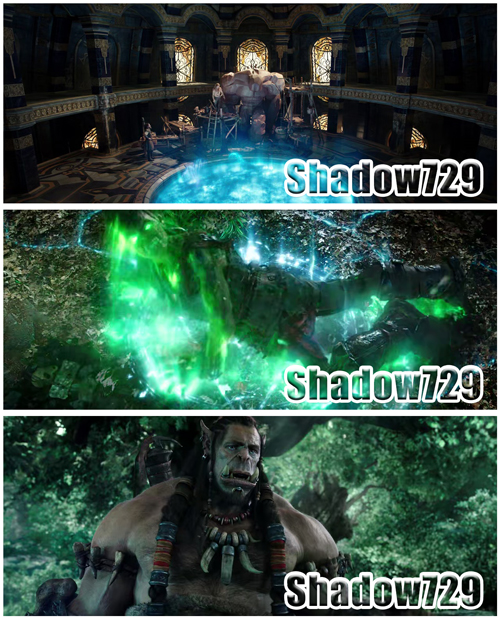 Warcraft: El Primer Encuentro de Dos Mundos (2016) 720p,Dual