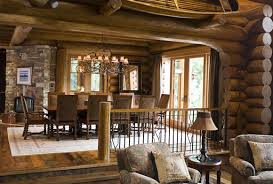 Ruang Pada Rumah Bergaya Arsitektur Country Umumnya Saling Berhubungan Tanpa Dibatasi Dengan Pemisah Yang Mutlak