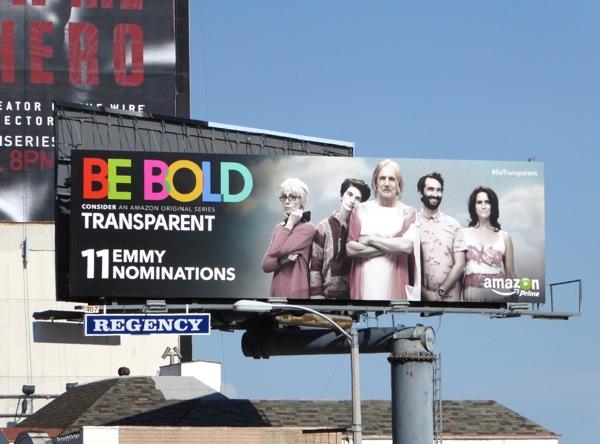 Be Bold Transparent 2015 Emmy billboard