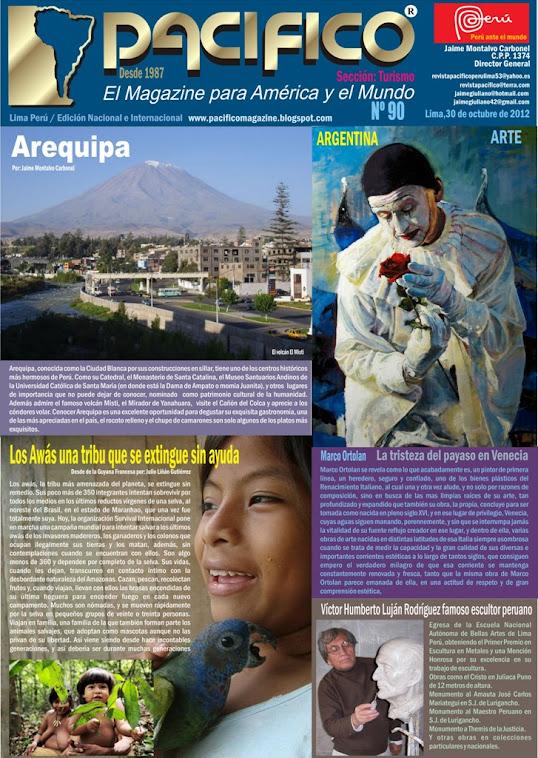 Revista Pacífico Nº 90 Turismo