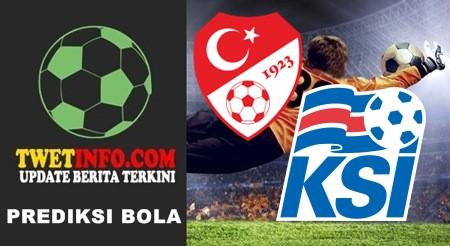 Prediksi Turkey vs Iceland