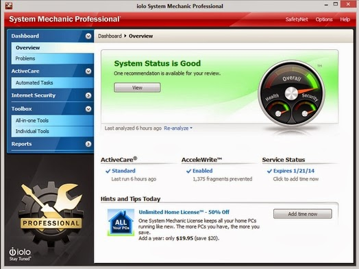 Download System Mechanic Pro 12 Full Serial
