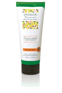 Andalou Moisture Rich Argan & Sweet Orange Styling Creme