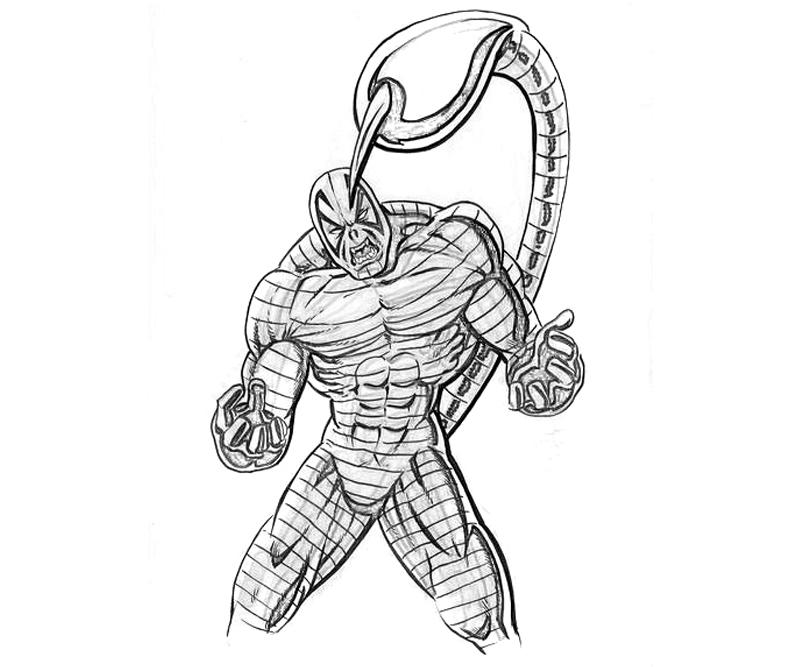 the-amazing-spider-man-scorpion-sketch-coloring-pages