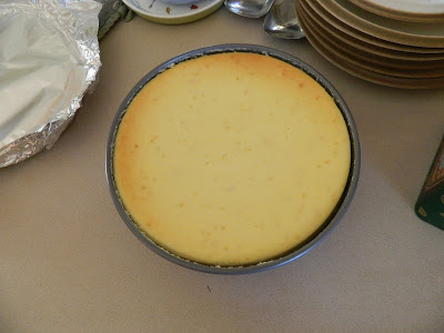 jaimalaya: Homemade Friday: Lemon Cheesecake with Gingersnap Crust