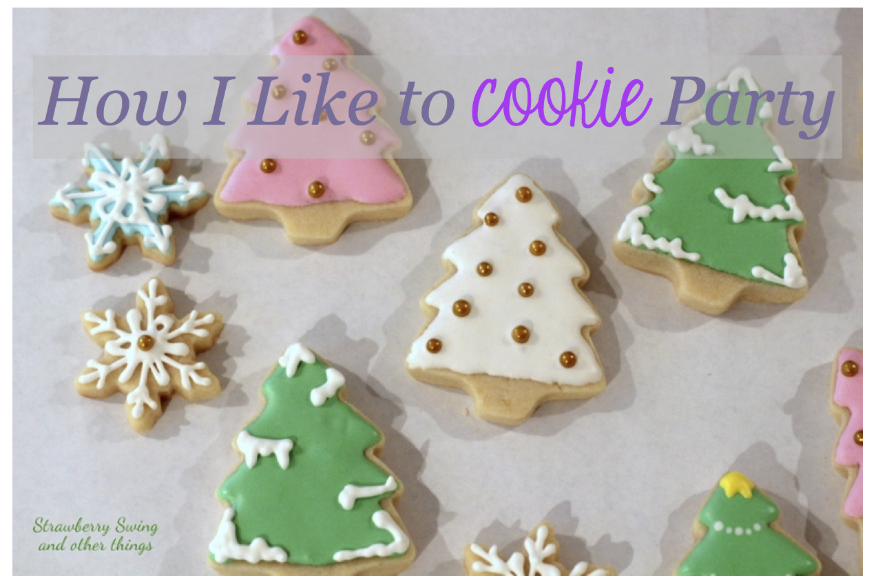 Strawberry Swing and other things: How I Cookie Party - Royal Icing ...