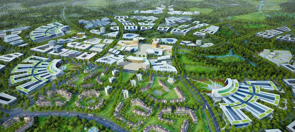 3D-план будущего города