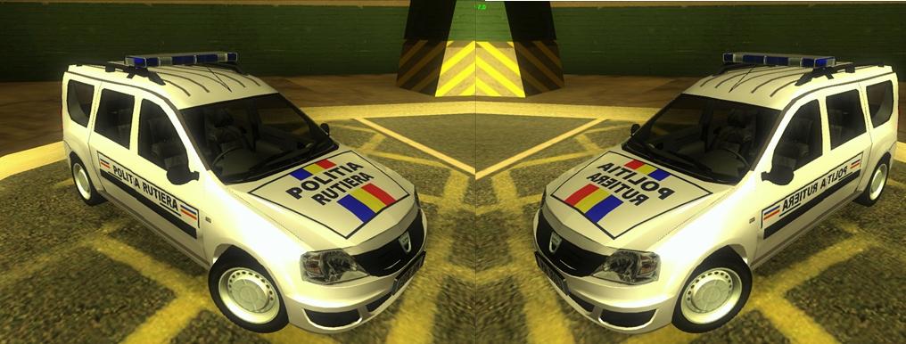 Dacia Logan MCV Politia Rutiera In Gta San Andreas