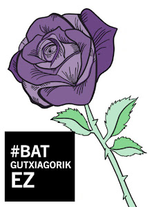 25Noviembre. Manifestación en Errenteria. Bat gutxiagorik EZ!!