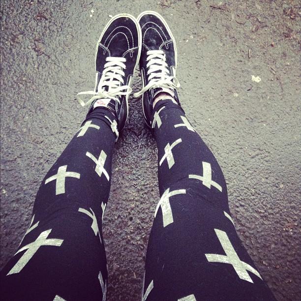 leggings style grunge