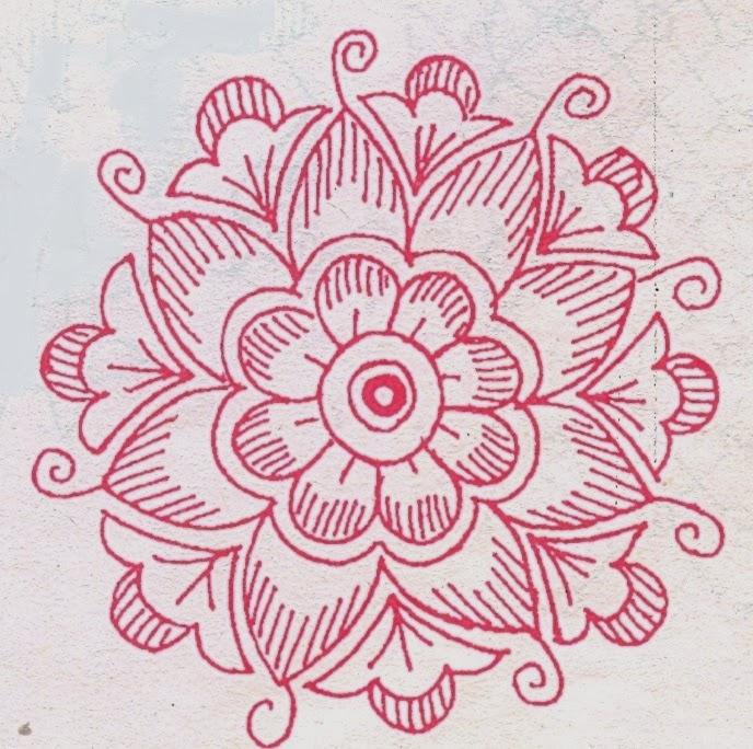 Madhu Krishna Blog Simple Rangoli Designs Without Dots
