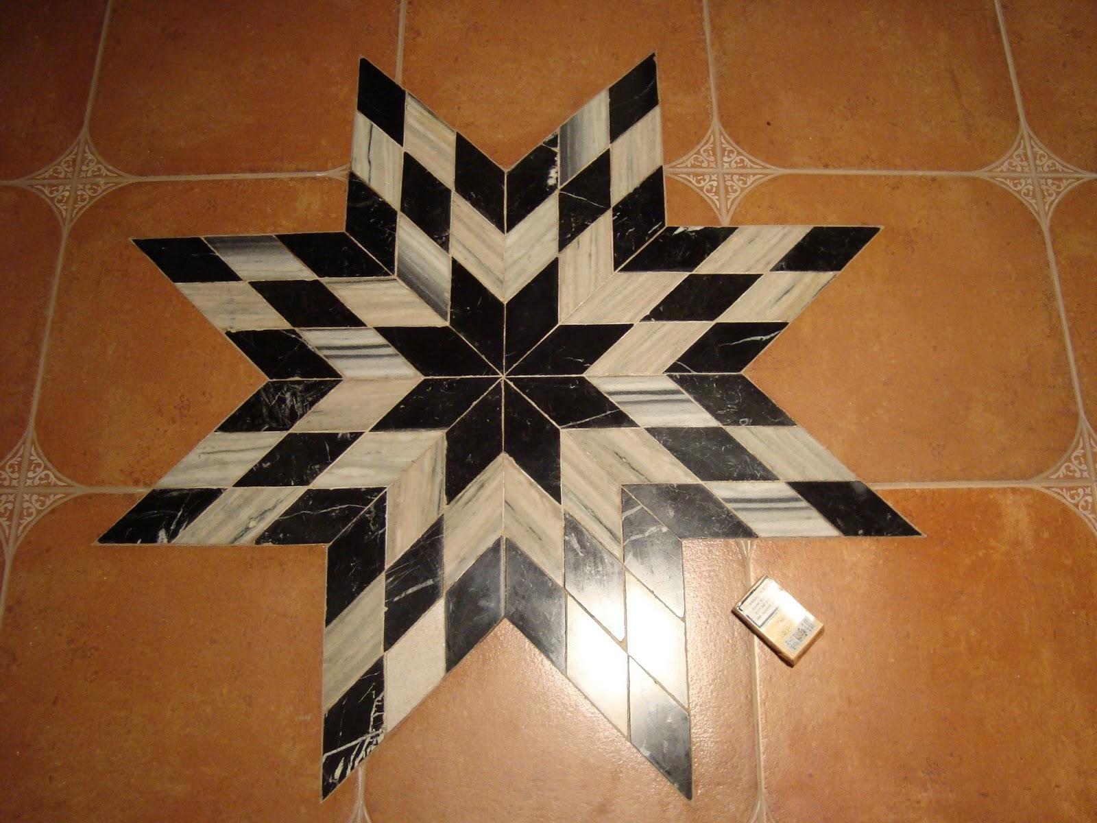 Manuel saila barrios estrella de marmol blanco y negro for Marmol blanco y negro