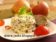 Šalát zo stonkového zeleru - recept