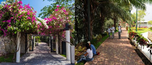 Malecones turísticos de la ciudad de Guayaquil - Malecón Universitario