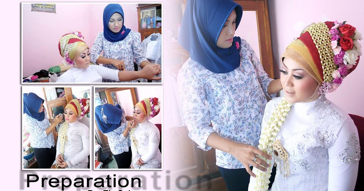 Rias Pengantin Jilbab Modifikasi - Pelanggan A'yun - Pace