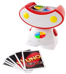 UNO Roboto Game Cards Amazon