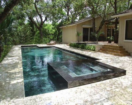 Outdoor natural pool ideas | Outdoor landscaping ideas