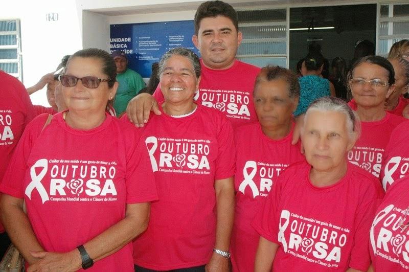 São João do Tigre inicia campanha Outubro Rosa