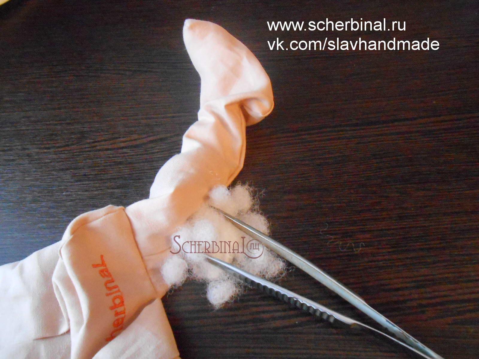 игровая текстильная кукла-карамелька Людмилы Щербина, мастер класс