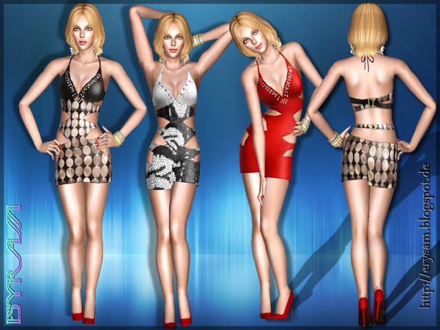 My Sims 3 Blog: Party Time Dress by ErysaM