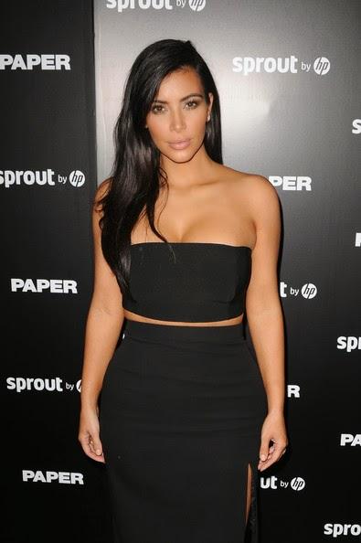 Top US Model Kim Kardashian