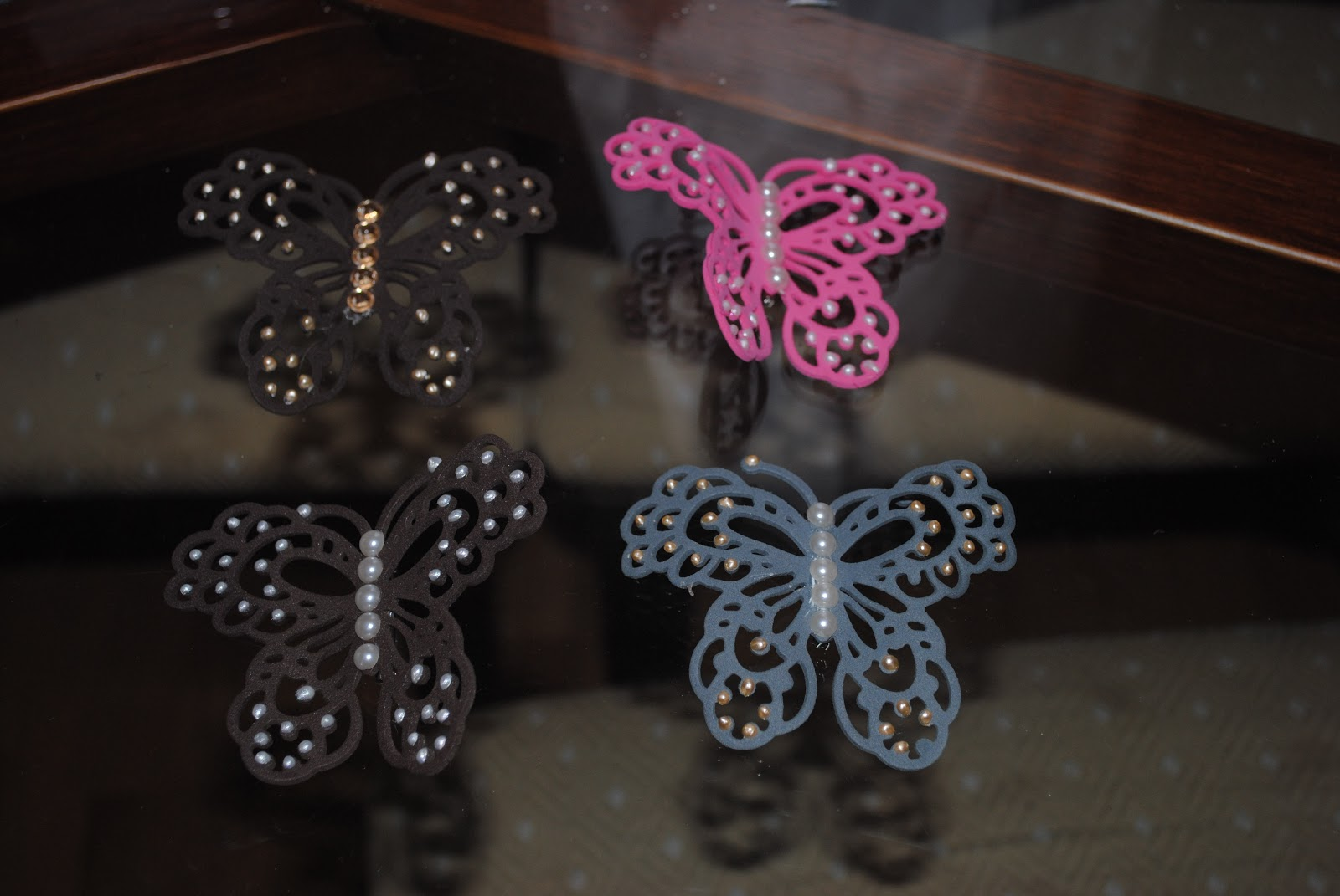 Regalos goma eva broches mariposas - Mariposas goma eva ...