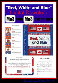 """photo of: """"Red, White and Blue"""" Digital Download Available Now"""