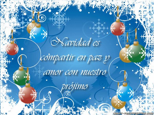 Feliz Navidad imágenes con frases para Facebook