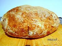 Pan de trigo con autolisis y pasta fermentada (Richard Bertinet)