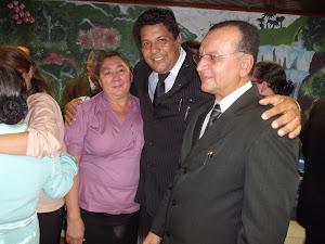 Pr: Fernando Viana, Pr Edir e esposa Prª Graça.
