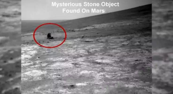 Μυστηριώδης πέτρα ή μεταλλικό αντικείμενο βρέθηκε στον πλανήτη Άρη; [Βίντεο]