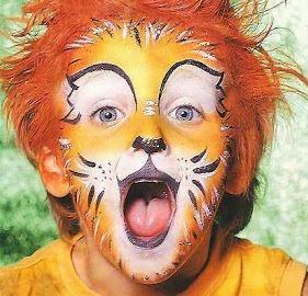 paso a paso maquillaje de leon