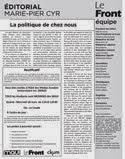 Le Front en PDF