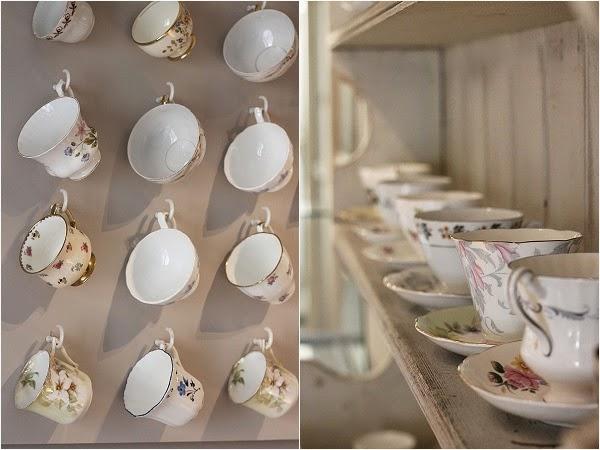 Hatties of Baslow - Vintage tea cups