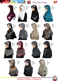 aneka jilbab murah