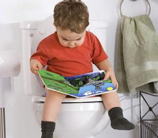 Toilet training potty