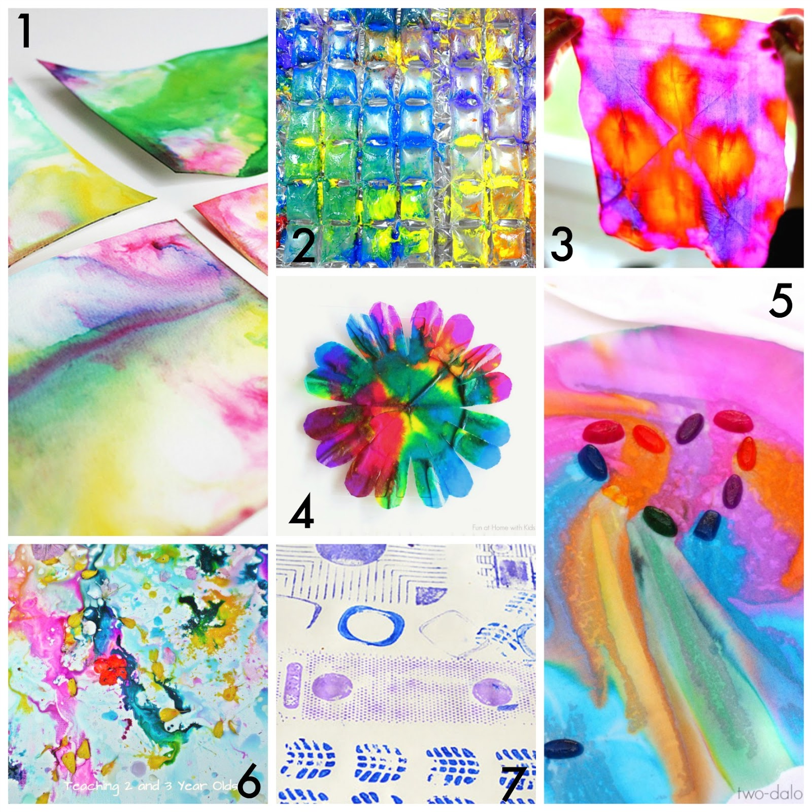 50 easy process art activities for kids fun at home with kids