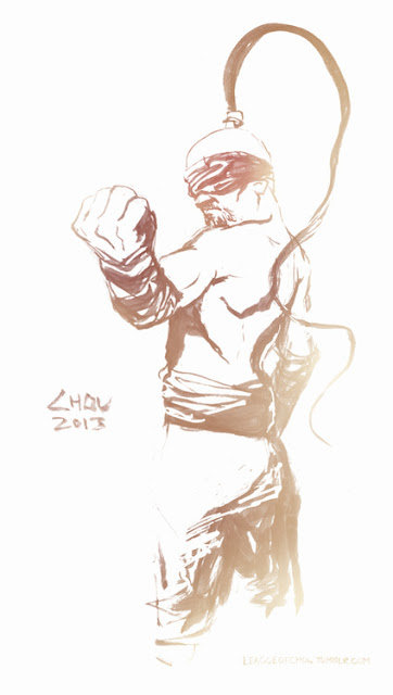 FanArt de Lee Sin (League of Legends)