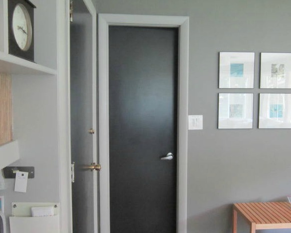 Design Megillah Black Painted Doors