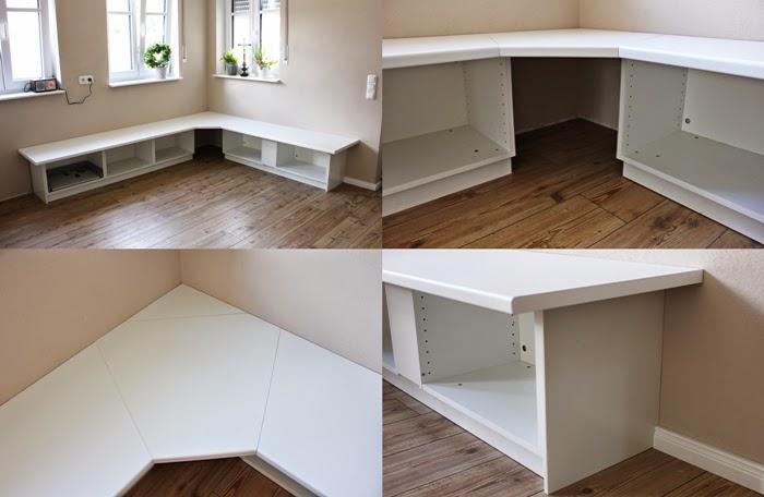 wir bauen ein haus ikea hack tutorial essecke fashion kitchen. Black Bedroom Furniture Sets. Home Design Ideas