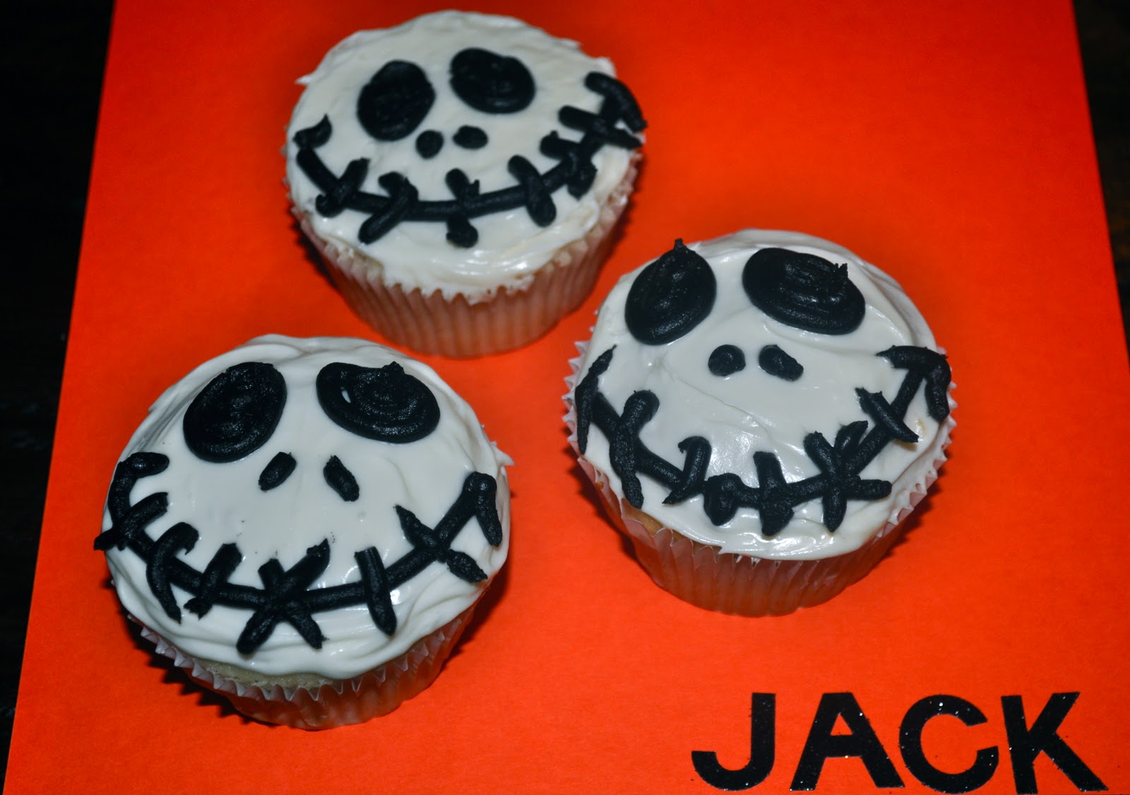 Coloring pages shapes ms7 fisher price - Jack Skellington Cupcakes