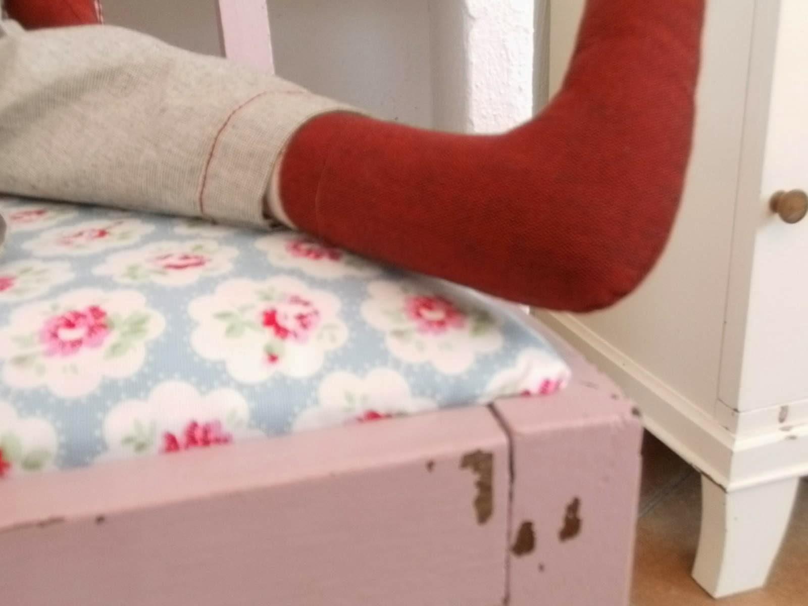 lila lavendel es hat geschneit. Black Bedroom Furniture Sets. Home Design Ideas