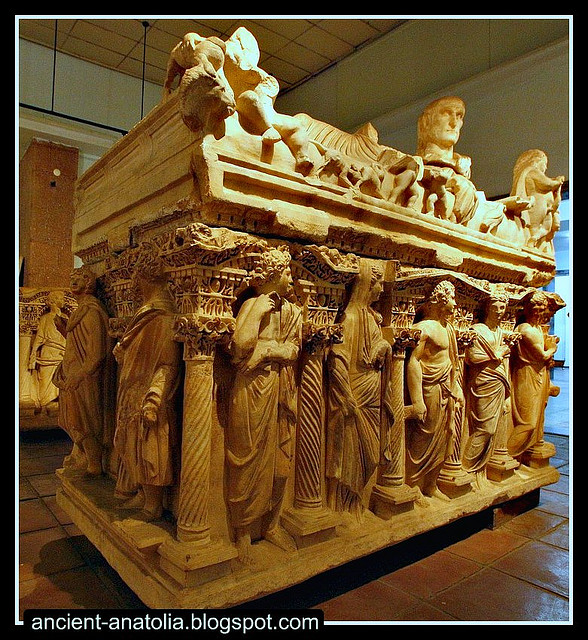 Roman Tomb at Archaeology Museum of Konya