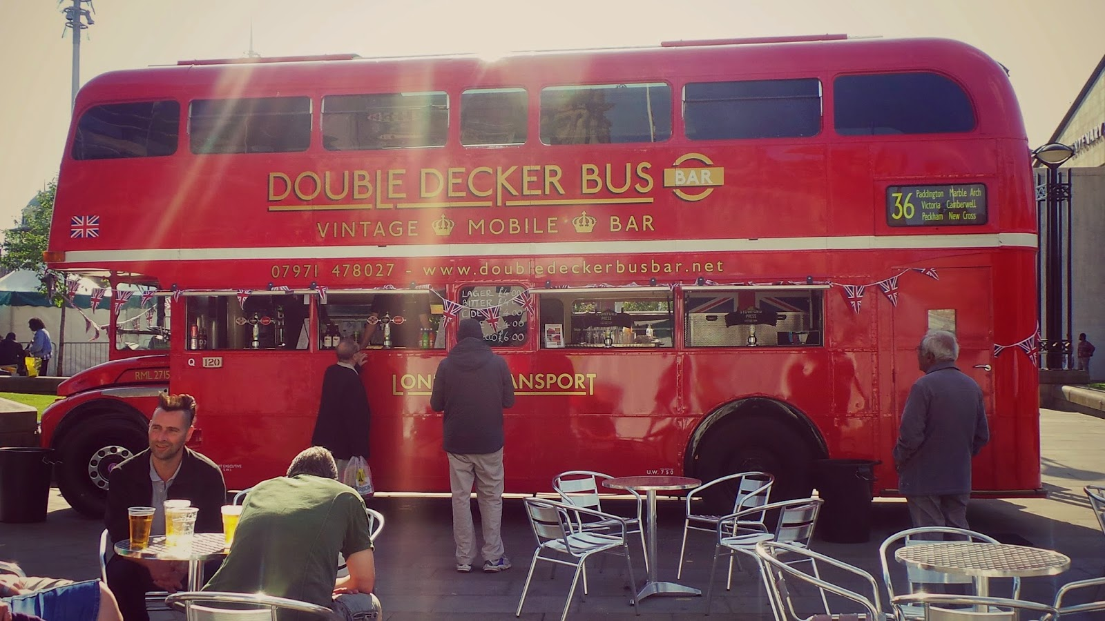 bradford curry festival double decker bus bar