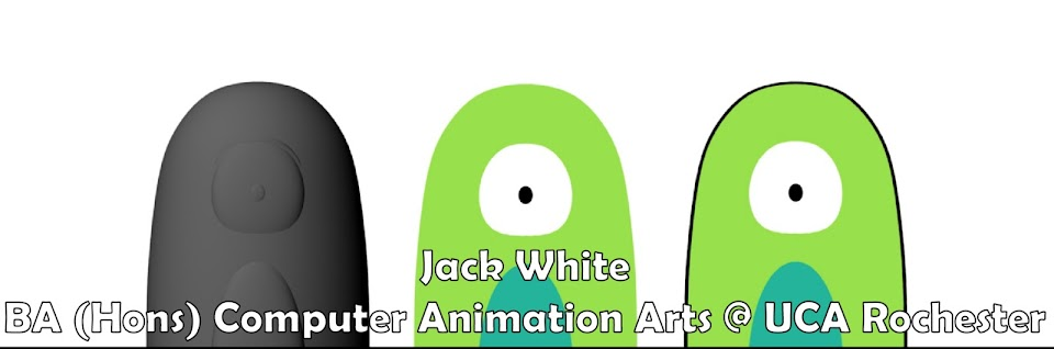 Jack White, BA (Hons) Computer Animation Arts @ UCA Rochester