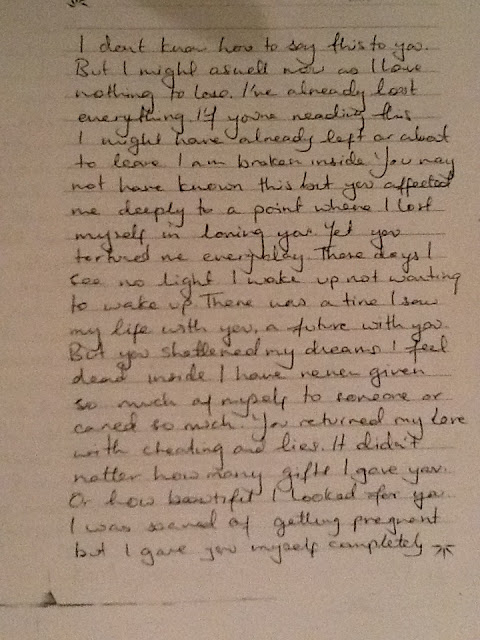 Jiah Khan's suicide note was released to the press by her mother