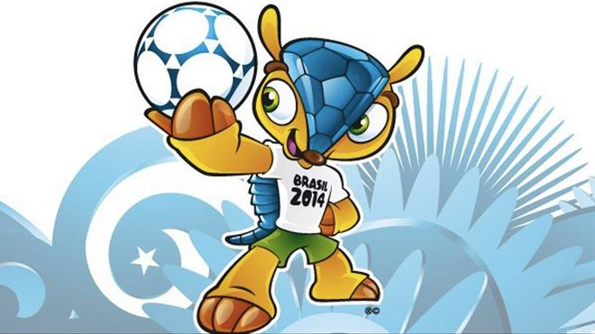 Fuleco Armadillo Mascot